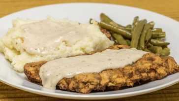 Vegan Fried Chicken Steak