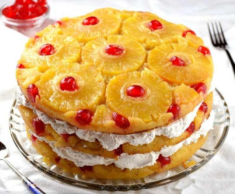 Vegan Pineapple Upside-Down Cake Recipe