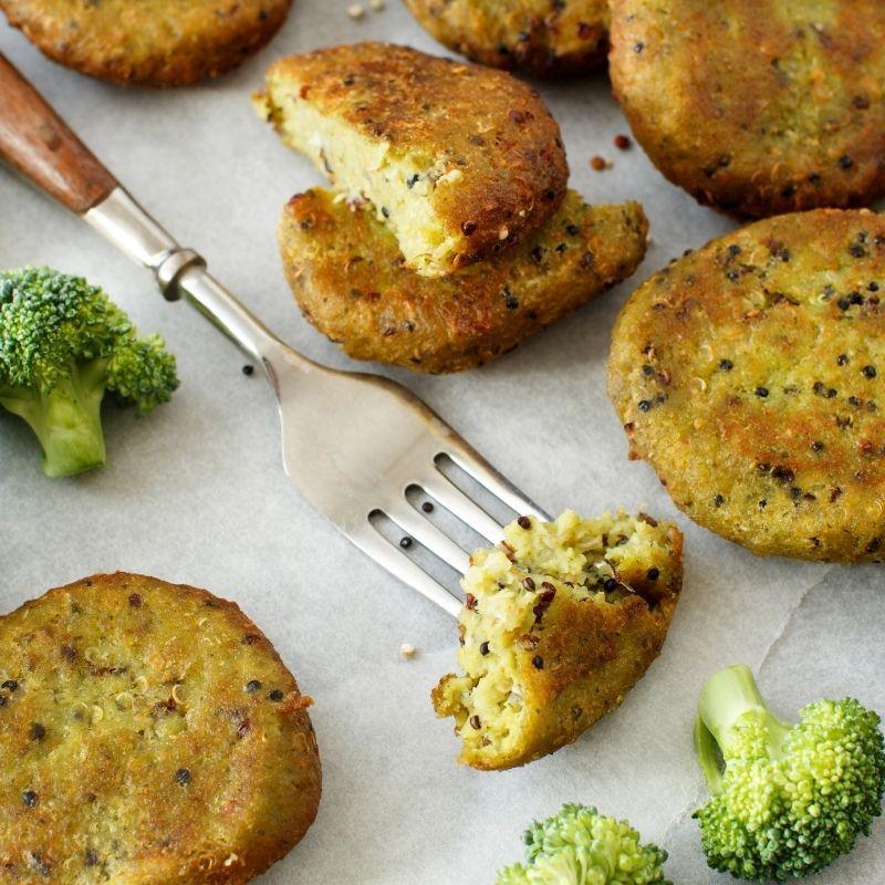 Vegan Broccoli Fritters Recipe