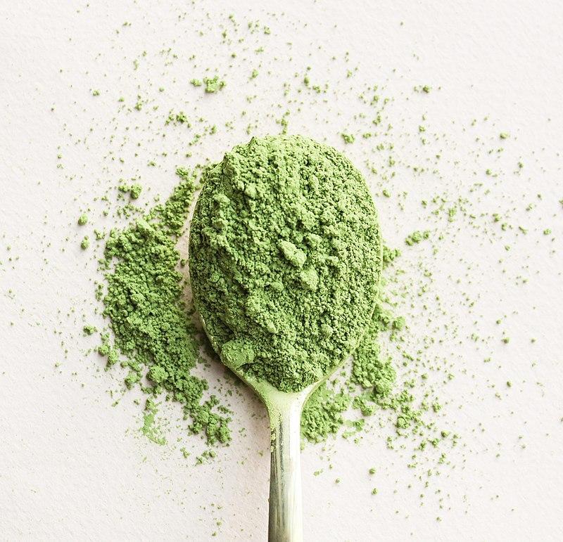 vegan matcha powder