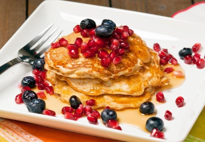 Vegan Pancakes with Einkorn Flour