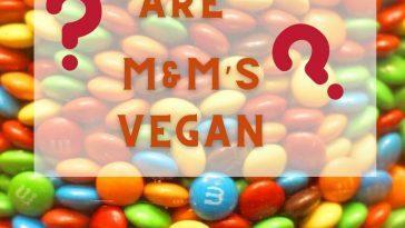 Are M&M's Vegan?