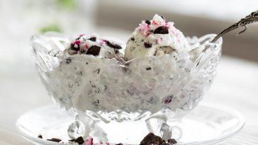 Vegan Stracciatella Ice cream Recipe