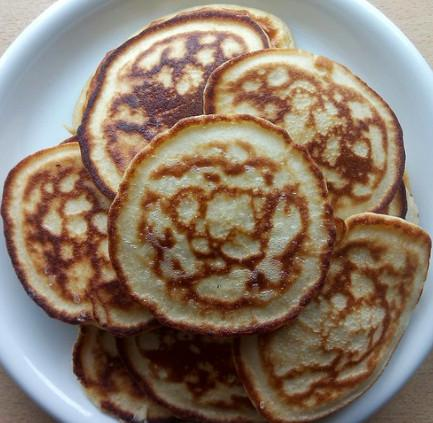 vegan tapioca flour pancakes